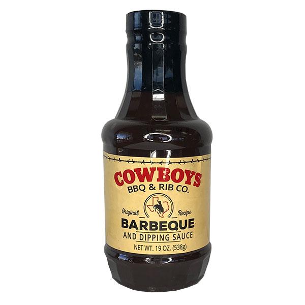 Original BBQ Sauce - Cowboys Barbecue & Rib Co